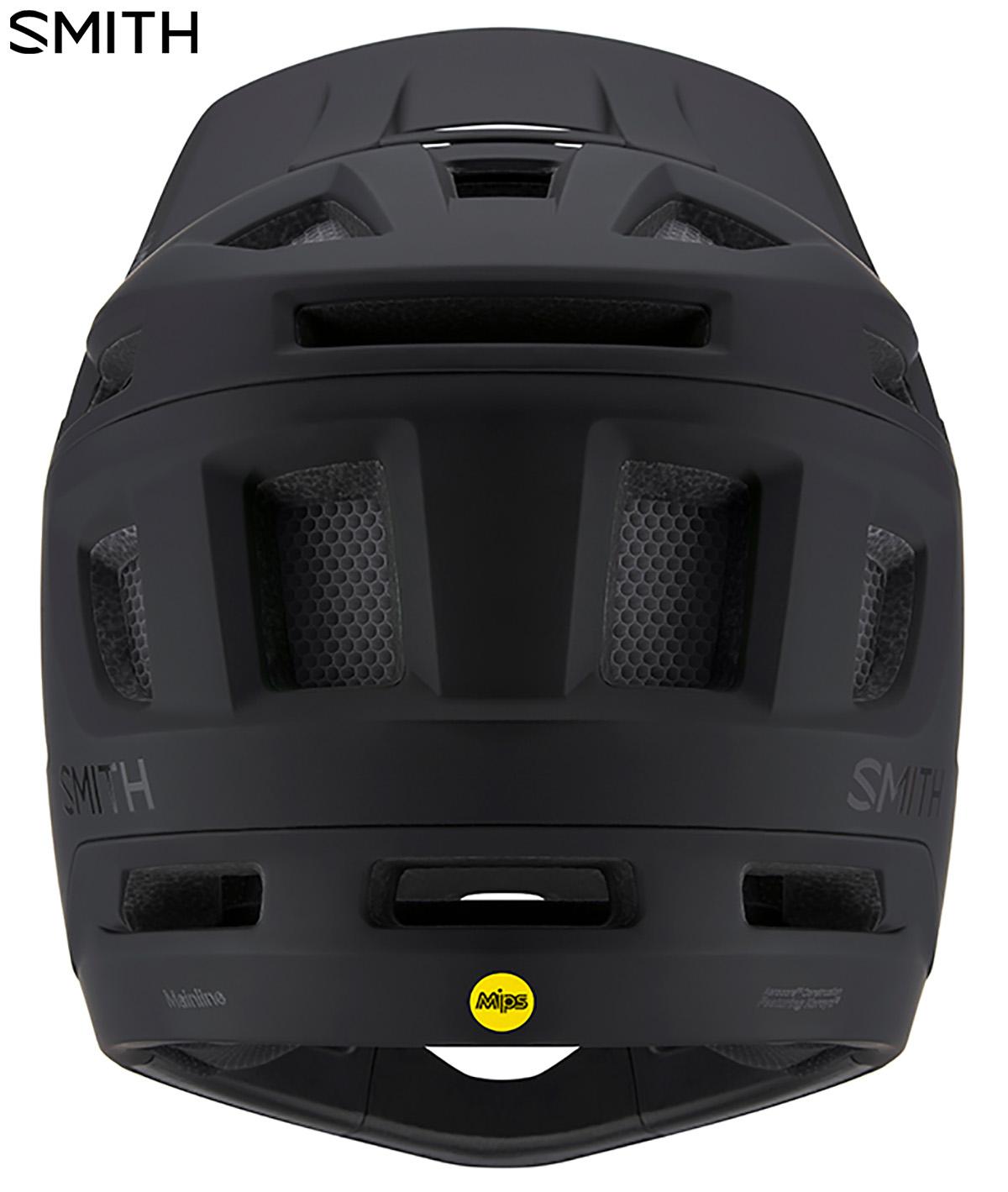 Visione posteriore del casco da mountainbike Smith Mainline 2020 con in vista il logo MIPS