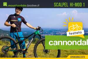 Nuova mtb Cannondale Scalpel Hi-mod 1 2021