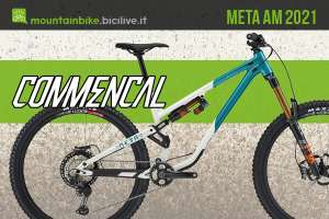 Nuova mountainbike Commencal Meta AM 2021