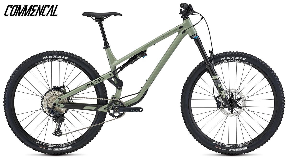 Una mountain bike full suspended Commencal Meta TR 29 Essential 2021