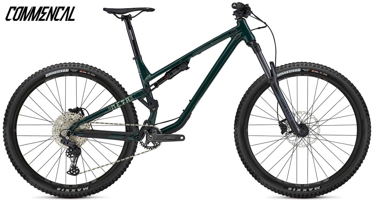 Una mountain bike biammortizzata Commencal Meta TR 29 2021 Origin