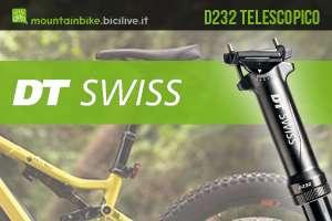Nuovo reggisela da mtb xc DT-Swiss D232 2020