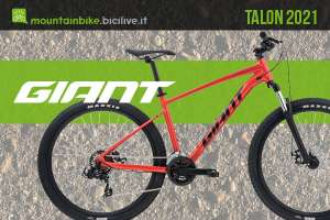 La nuova gamma mtb Giant Talon 2021