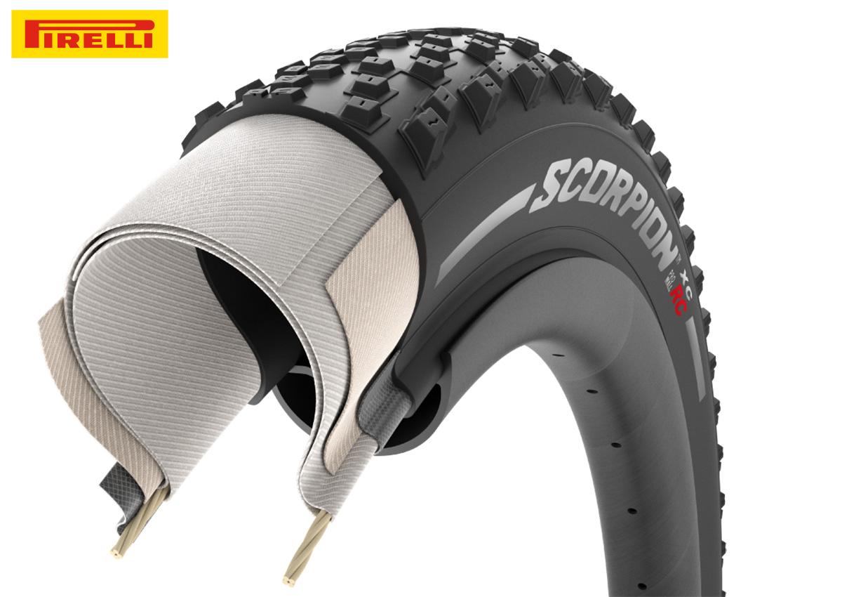 Strati del copertone da mtb Pirelli Scorpion XC RC 2020