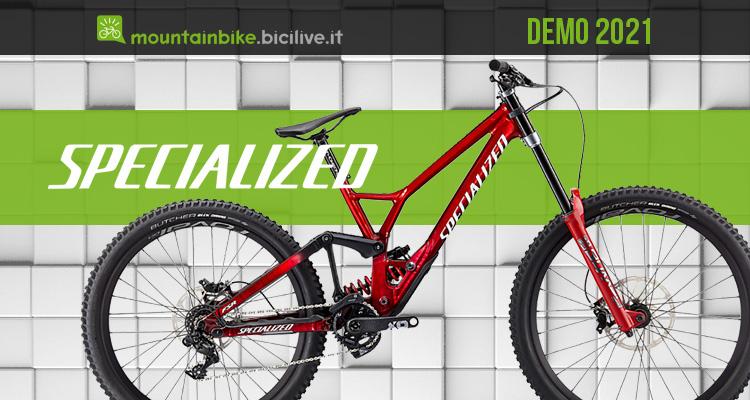 Specialized Demo 2021: la mtb da DH con ruote differenziate