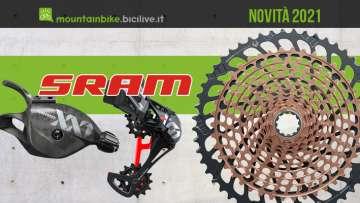 Le novità 2021 delle trasmissioni per bici mtb SRAM