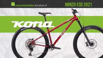 La nuova mtb Kona Honzo ESD 2021