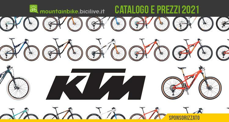 La nuova linea di mountain bike muscolari di KTM 2021