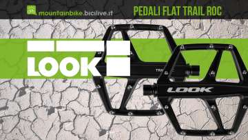 I nuovi pedali flat per mtb Look Trail Roc