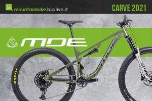 La nuova mtb da trail Mde Carve 2021