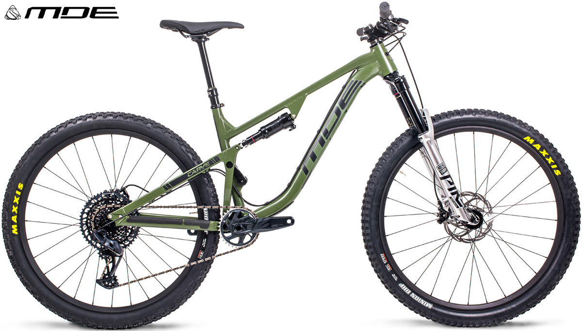 La nuova mountain bike da trail MDE Carve 2021