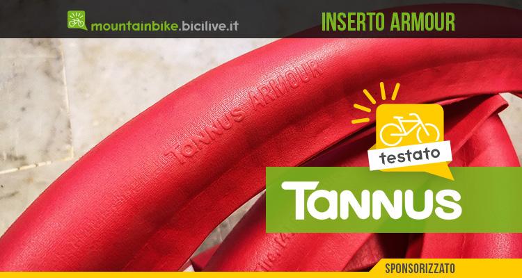 Foto del sistema antiforatura per biciclette tannus Armour.