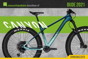 Le nuove mtb con gomme fat Canyon Dude 2021