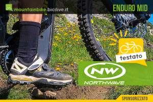 Il test delle nuove scarpe da mtb Northwave Enduro Mid 2020