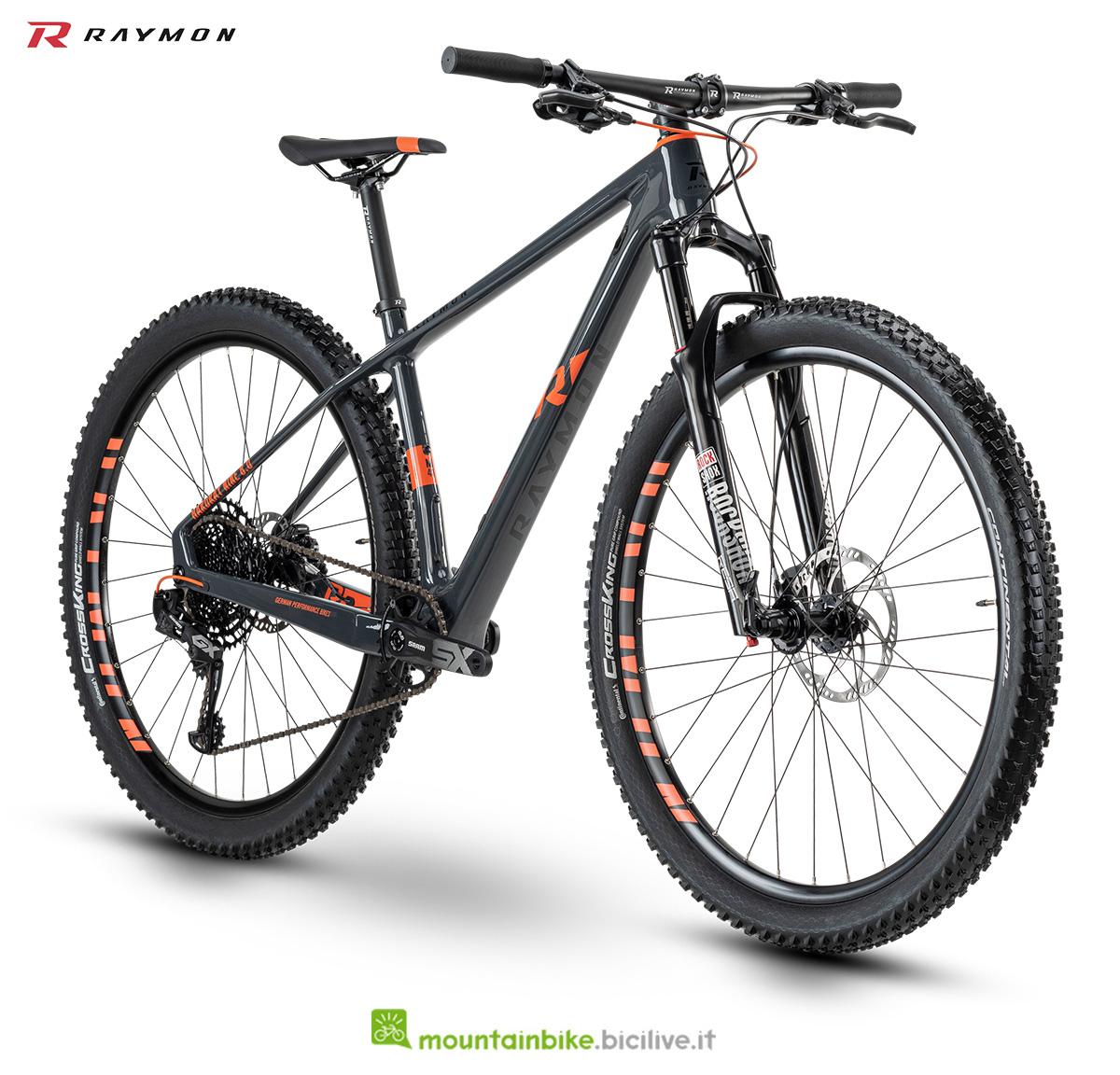 La nuova mountain bike R Raymon Hardray 8.0 della gamma 2021