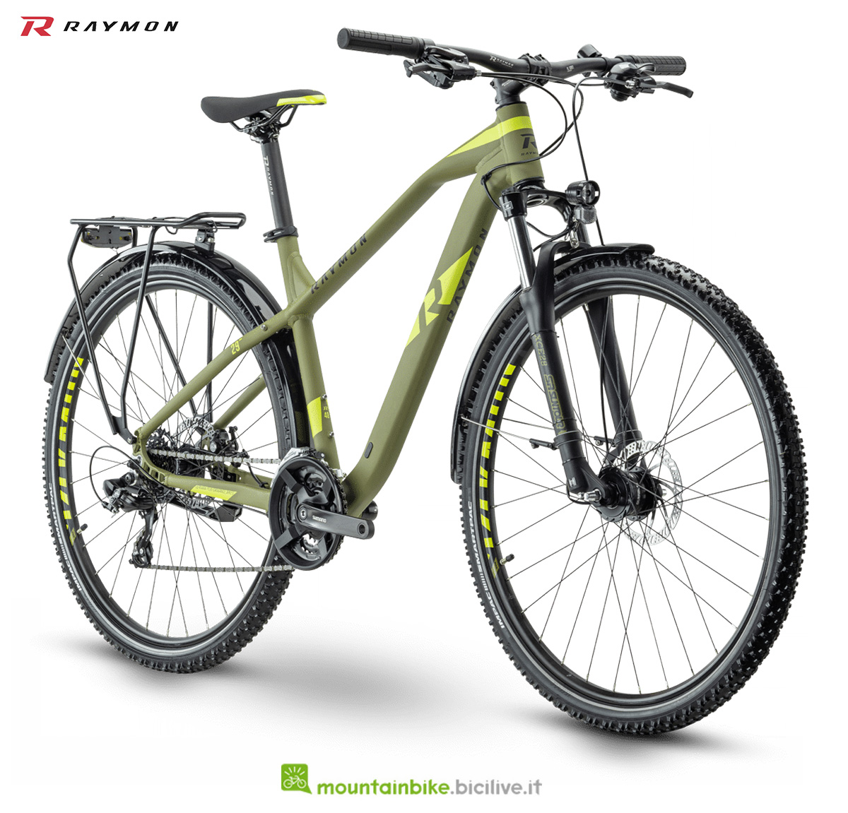 La nuova mountain bike della gamma 2021 R Raymon Hardray Nine 1.5 Street