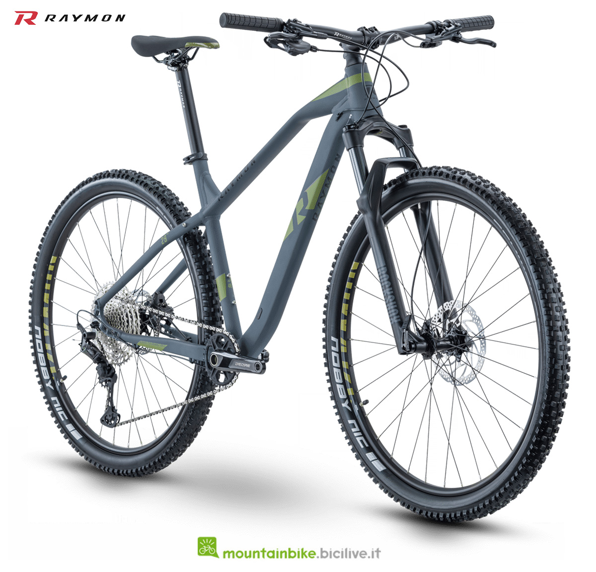 La nuova mountain bike della gamma 2021 R Raymon Hardray Nine 6.5