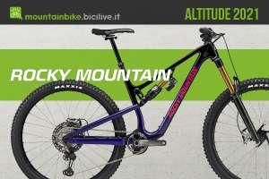 La nuova linea di mtb Rocky Mountain Altitude 2021
