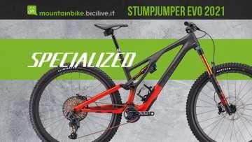 I nuovi modelli mtb della linea trail Specialized Stumpjumper Evo 2021