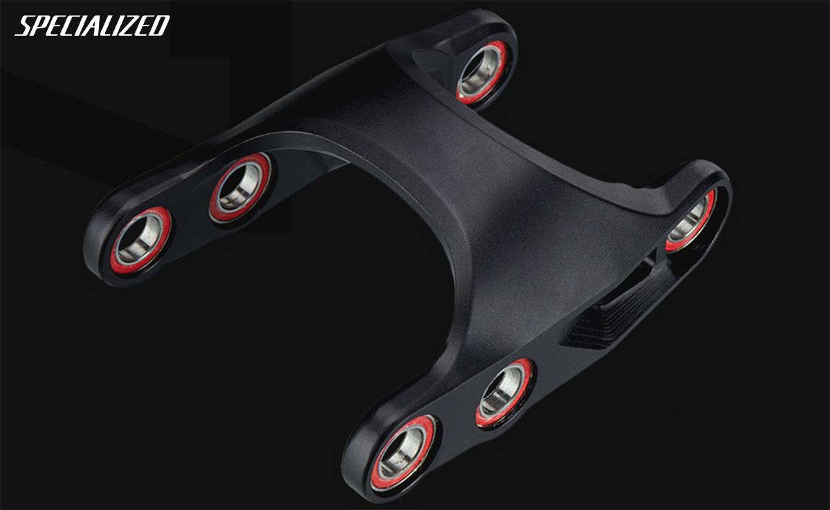 Il mullet removibile che permette di montare ruote diverse sulle nuove mtb Specialized Stumpjumper Evo 2021