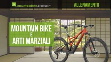Mountain bike e arti marziali: un connubio di allenamento utilissimo