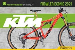 La nuova mtb fully Ktm Prowler Exonic 2021