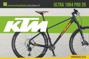 La nuova mountainbike front Ktm Ultra 1964 Pro 2021
