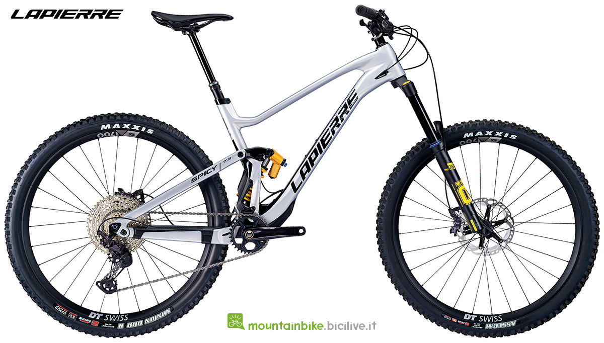 La nuova mountain bike Lapierre Spicy 7.9 CF 2021