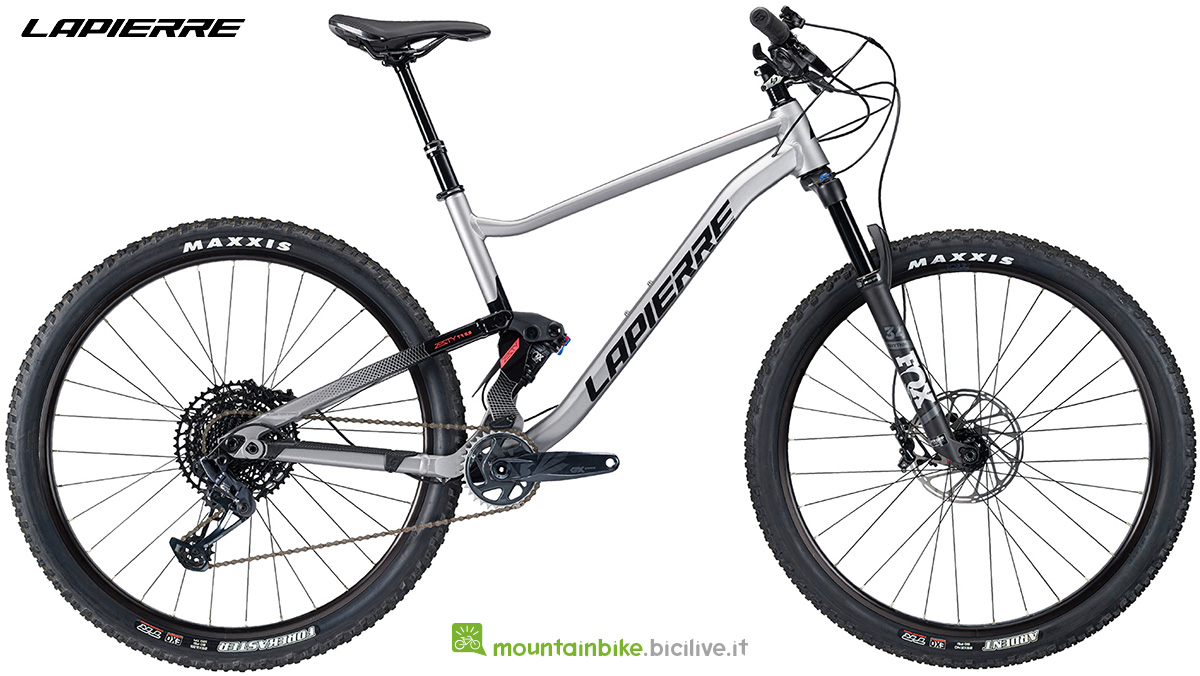 La nuova mountain bike Lapierre Zesty TR 5.9 2021