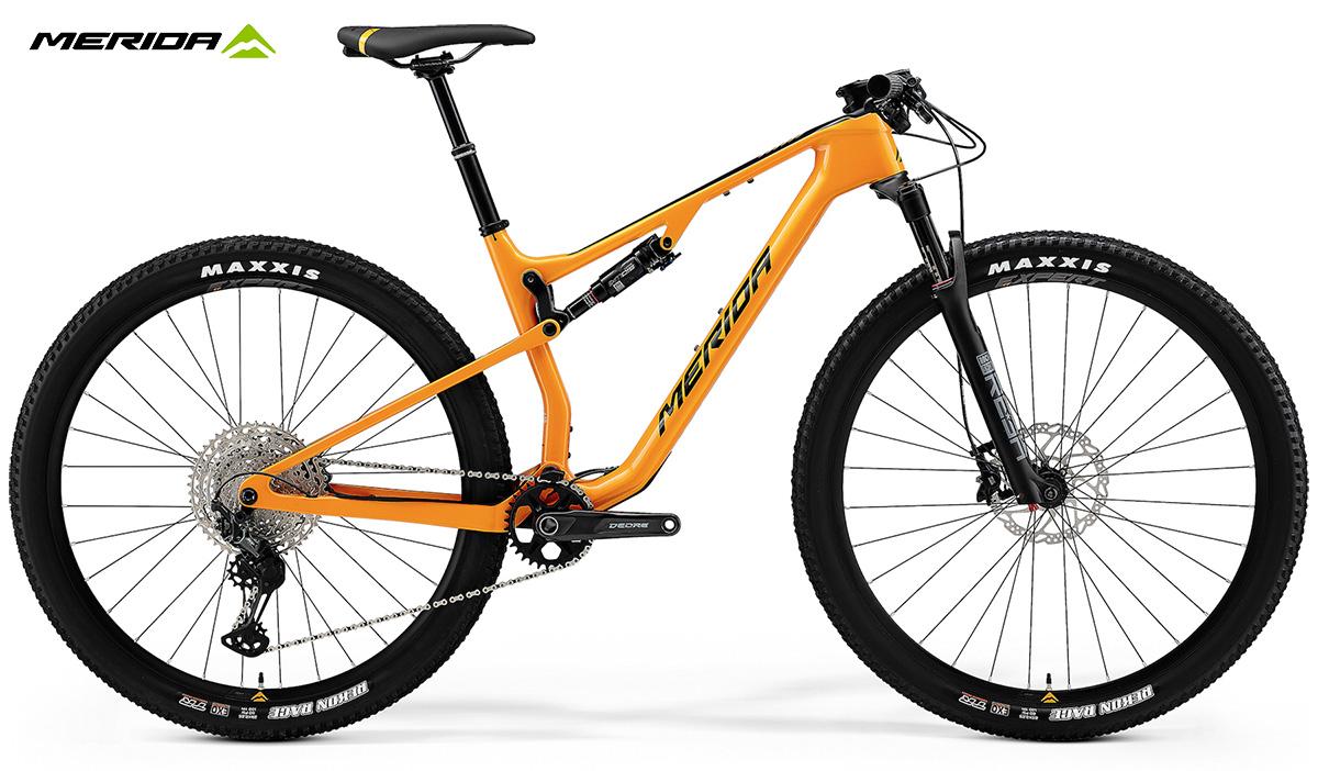 La Merida Ninety-Six RC 5000 in colorazione Orange