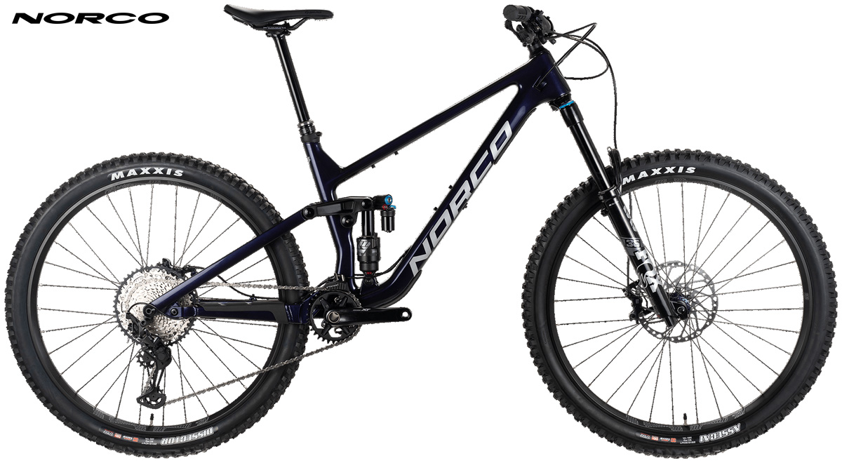 Una mountain bike full suspended Norco Sight C2 Shimano 2021