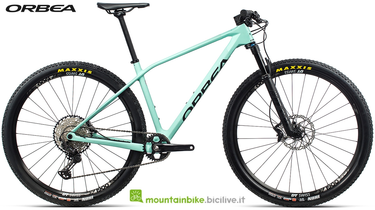 La nuova mountain bike front suspended Orbea Alma M25 2021