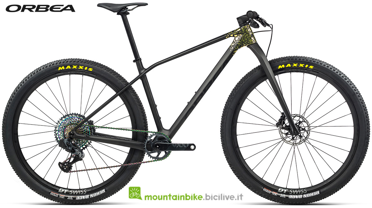 La nuova mountain bike front suspended Orbea Alma M LTD 2021