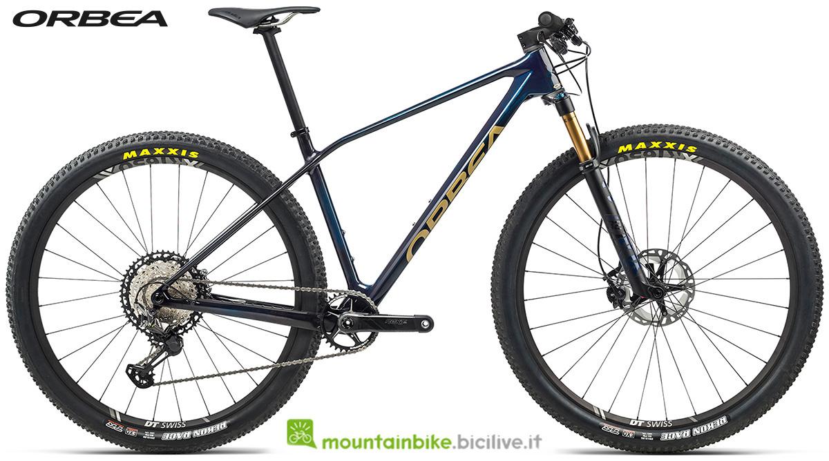 La nuova mountain bike front suspended Orbea Alma M Team 2021