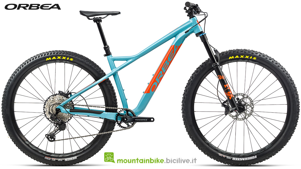 La nuova mountain bike front suspended Orbea Laufey H LTD 2021