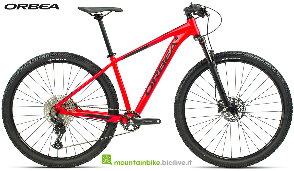 La nuova mountain bike front suspended Orbea MX 20 2021