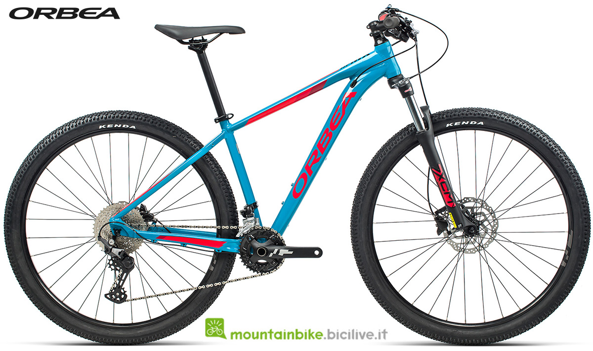 La nuova mountain bike front suspended Orbea MX 30