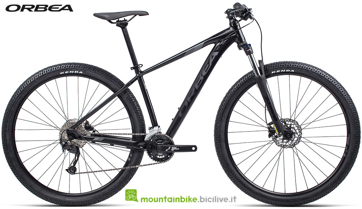 La nuova mountain bike front suspended Orbea MX 40 2021