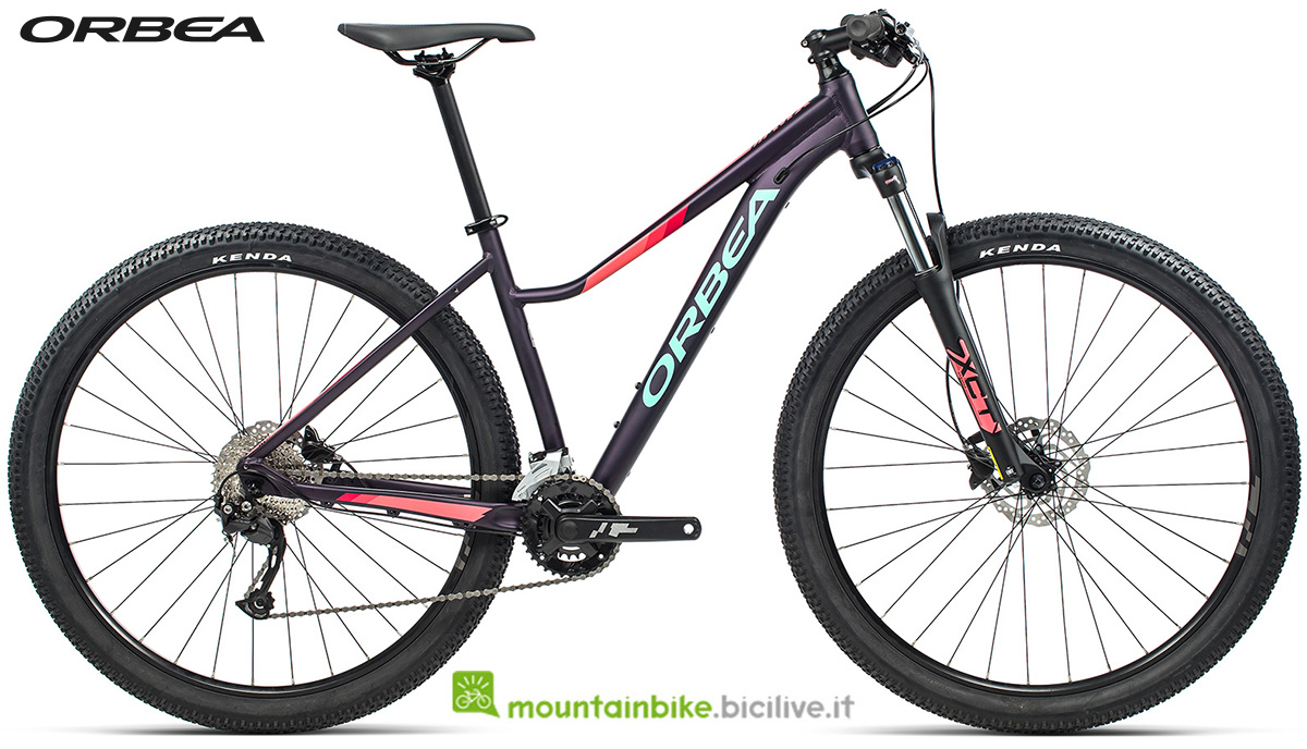 La nuova mountain bike front suspended Orbea MX Ent 40 2021
