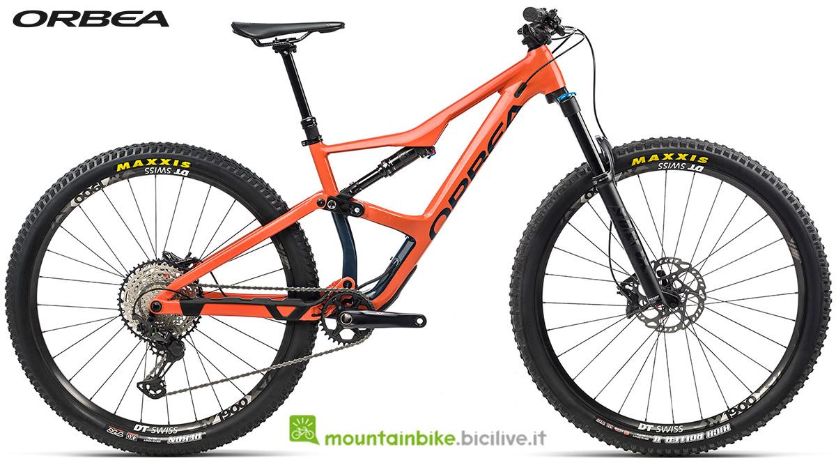 La nuova mountain bike biammortizzata Orbea Occam H10 2021
