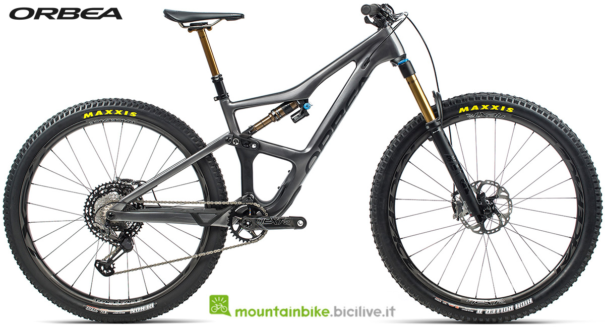 La nuova mountain bike biammortizzata Orbea Occam M LTD 2021