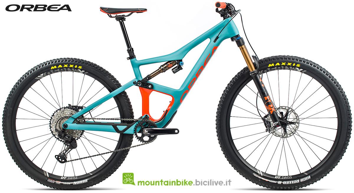 La nuova mountain bike biammortizzata Orbea Occam M10 2021