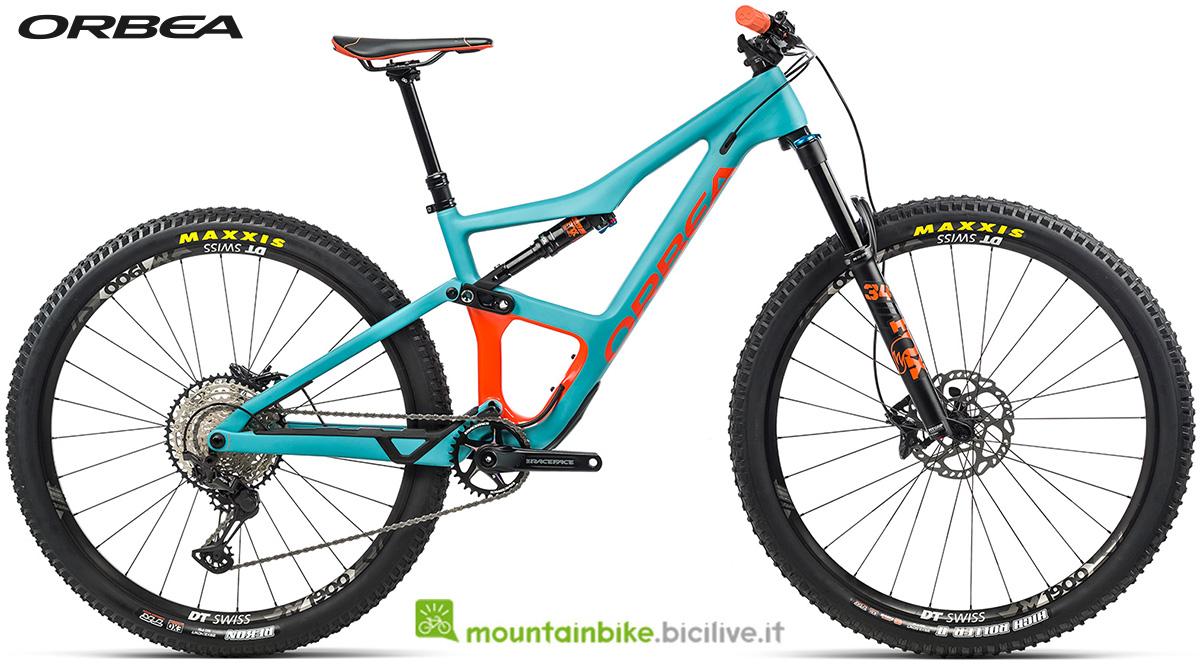 La nuova mountain bike biammortizzata Orbea Occam M30 2021