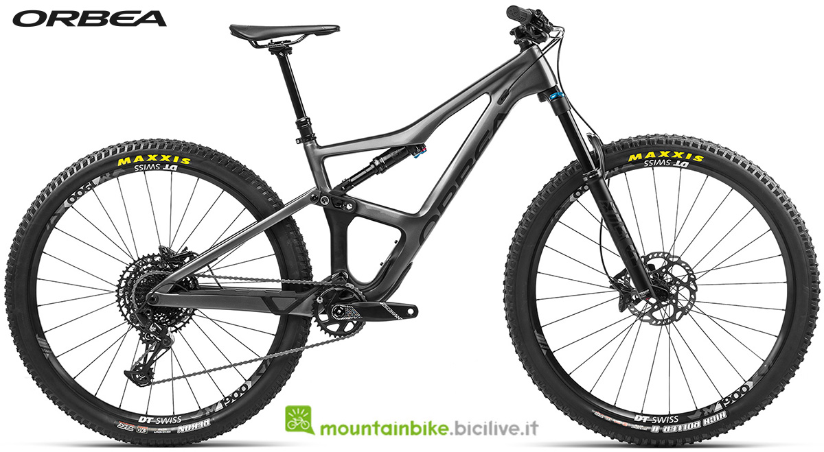 La nuova mountain bike biammortizzata Orbea Occam M30 Eagle 2021