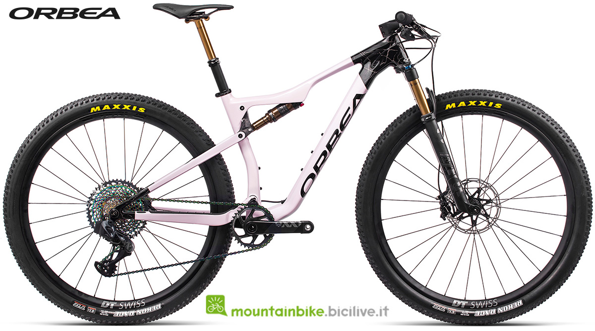 La nuova mountain bike biammortizzata Orbea Oiz M LTD 2021