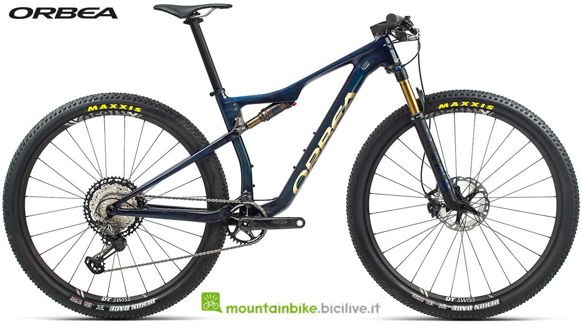 La nuova mountain bike biammortizzata Orbea Oiz M Pro 2021