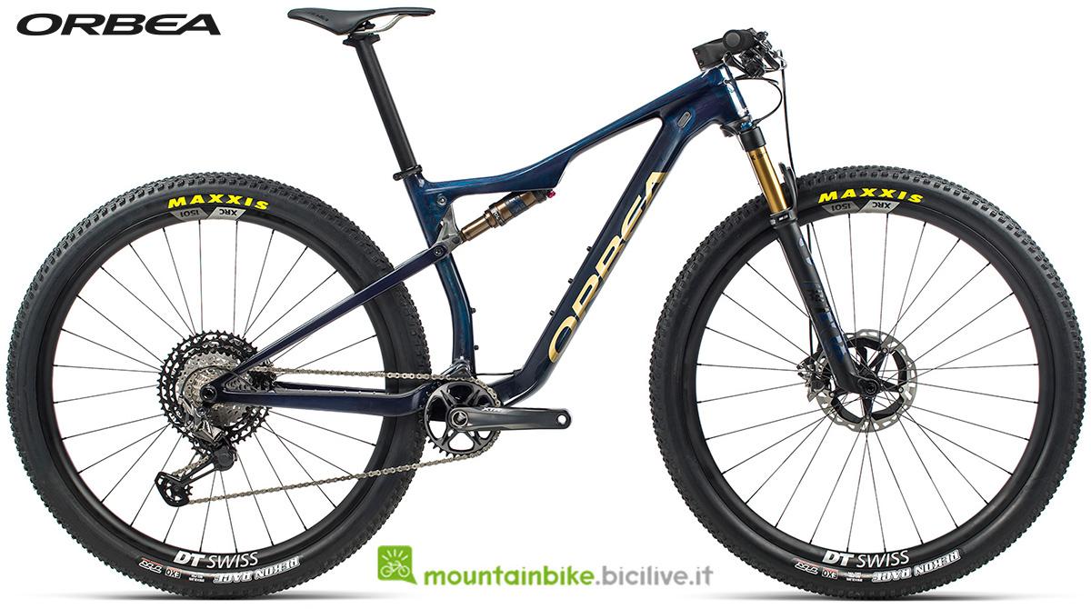 La nuova mountain bike biammortizzata Orbea Oiz M Team 2021