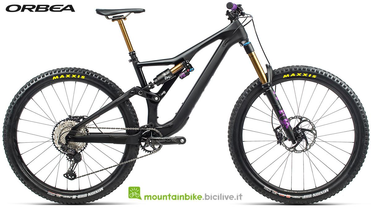 La nuova mountain bike biammortizzata Orbea Rallon M Team 2021