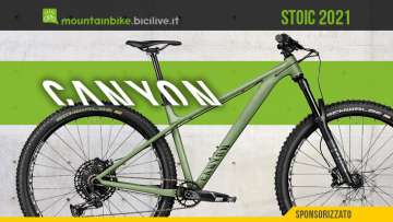 La nuova mountain bike hardtail Canyon Stoic 2021