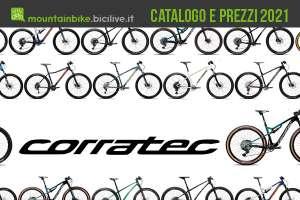 Corratec MTB 2021: il catalogo e il listino prezzi delle mountain bike